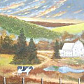 fall farm paintings and photographs - Art Group